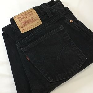 Levi's Vintage 551 Mom Jean High Black 10 Long